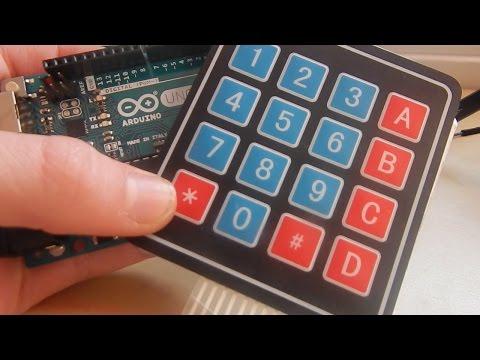Arduino Matrix Keypad Tutorial (#19 Ultimate Beginner's Guide to Arduino)
