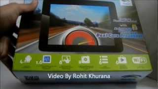 Swipe Velocity Tab  Dual Core Android Tablet Video Review In Hindi