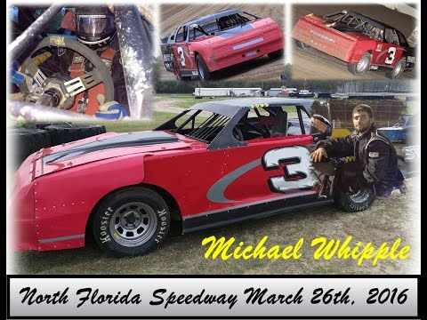 Michael Whipple at North Florida Speedway 3-26-16