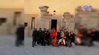 أخبار اليوم | تعامد الشمس بمعبد الدير البحري في عيد