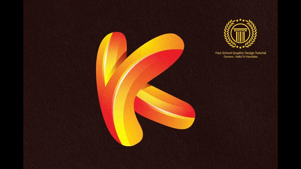 Create 3D Logo Design in Adobe illustrator CS6 using Pen
