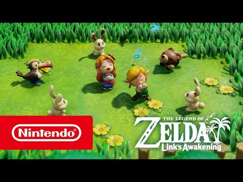 The Legend of Zelda: Link's Awakening – Overview trailer (Nintendo Switch)