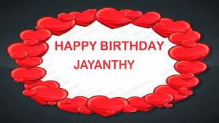 Jayanthy   Birthday Postcards & Postales - Happy Birthday