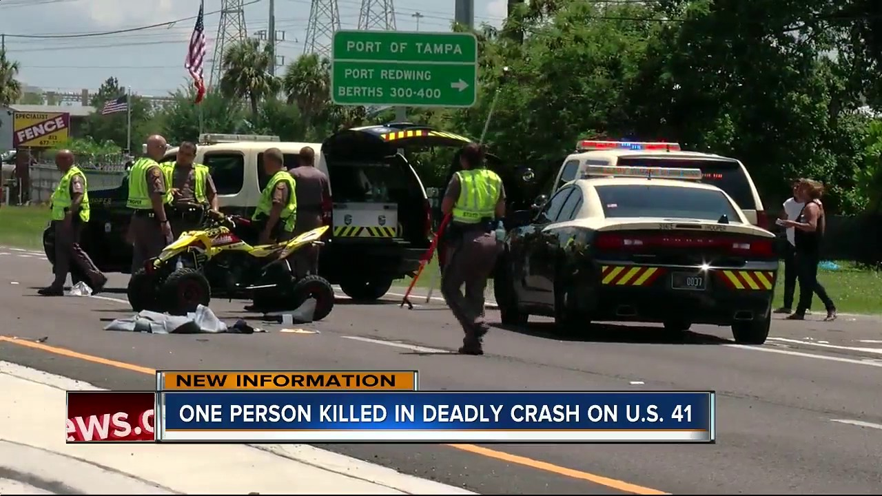 One person killed in deadly crash on U S  41