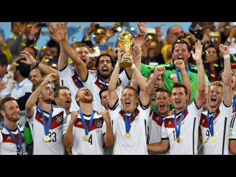 Deutschland Weltmeister 2014 Germany World Cup Ein Hoch Auf Uns