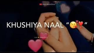Aa Kathe Hoke Duniya Bana Laiye | ♥️NEW LOVE SONG | ♥️😘ROMANTIC WHATSAPP STATUS 😘♥️| AsimMusicdoor
