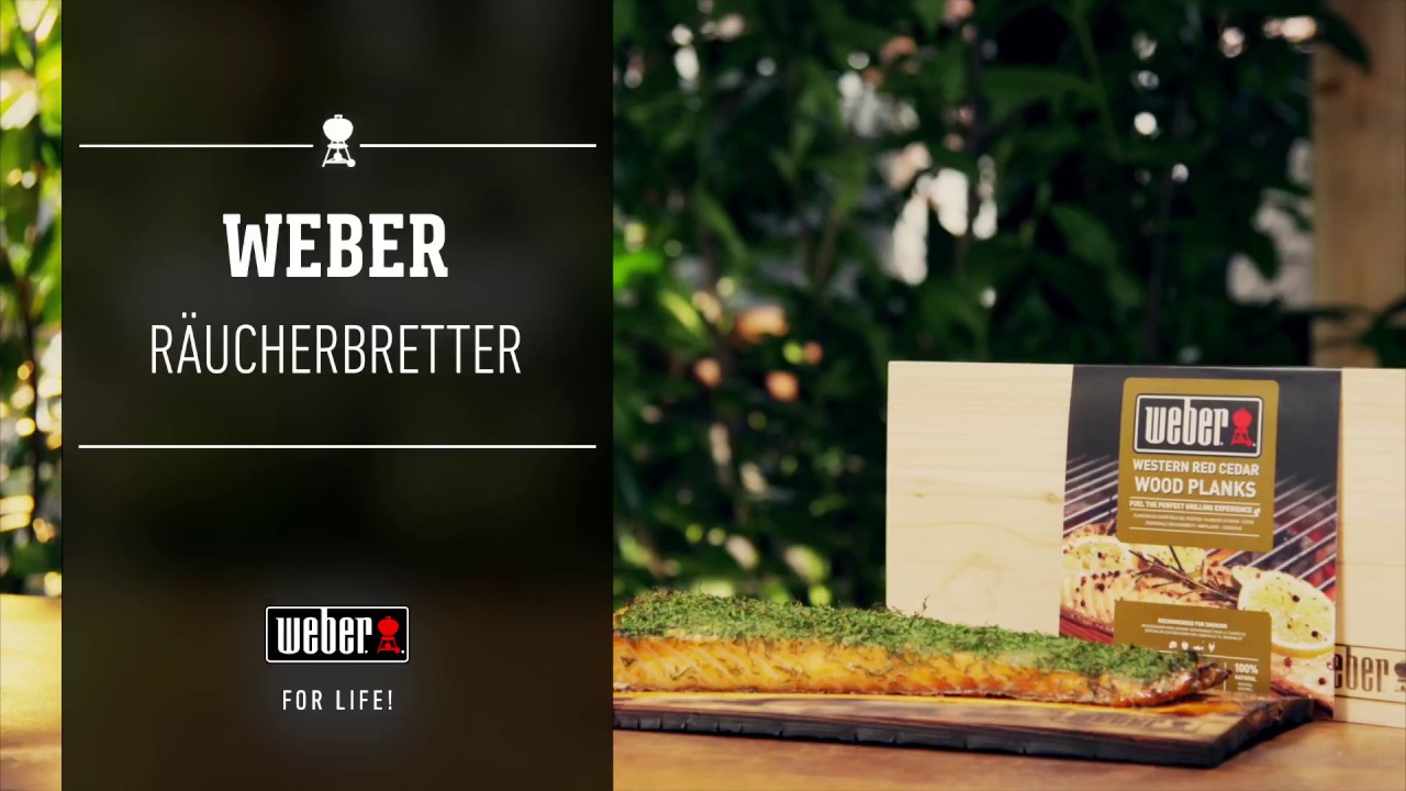 Weber Elektrogrill Räuchern : Weber stephen grill räuchern räucherbretter youtube