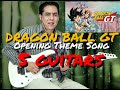 Download DRAGON BALL GT -Opening- 4 guitars MP3 song and Music Video