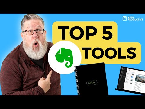 Top 5 Evernote Tools Loved By @dottotech