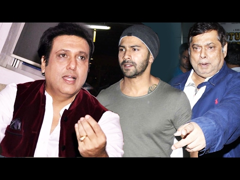 Govinda INSULTS Varun Dhawan & His Father David Dhawan