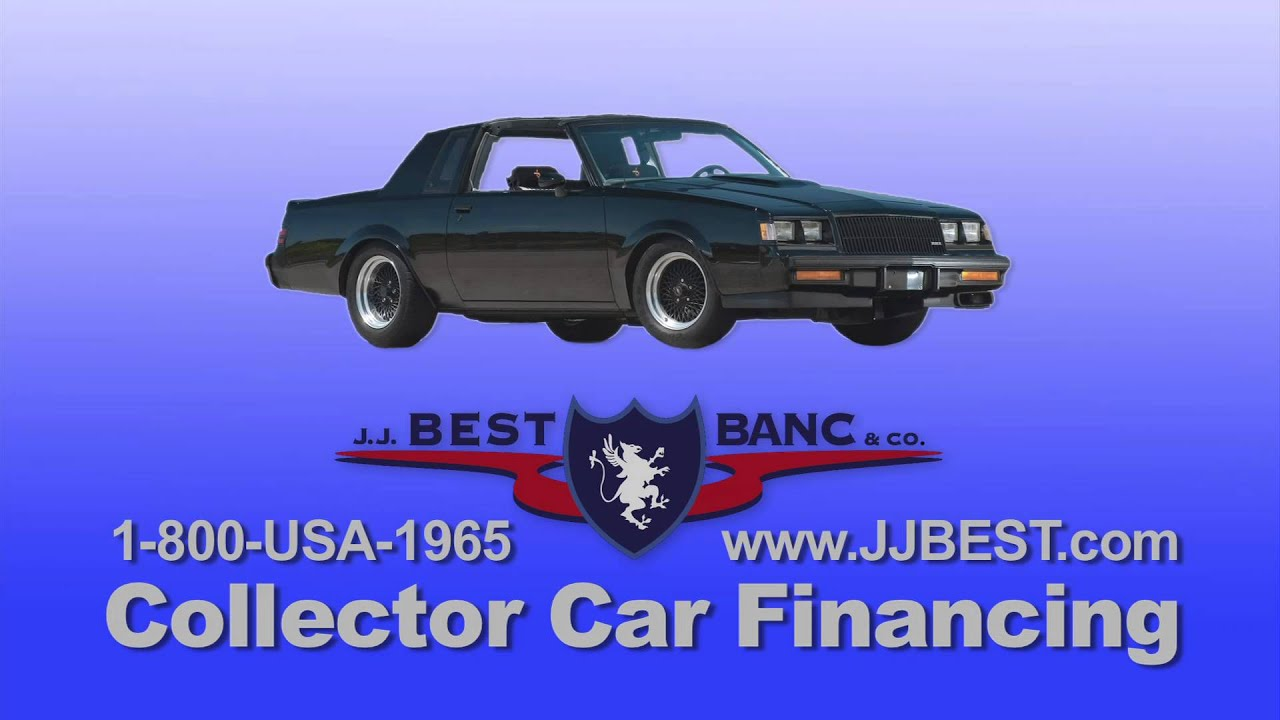 Collector Car Financing JJ Best Banc Co Revised YouTube - Classic car financing