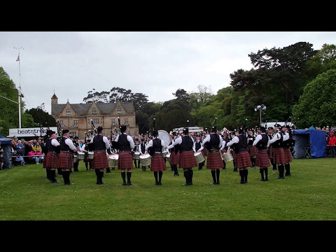 Pipes & Drums of the Police Service of Northern Ireland - Ards & North Down Championships 2017 - MSR