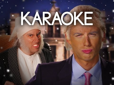 [KARAOKE ♫] Donald Trump vs Ebenezer Scrooge. Epic Rap Battles of History. [INSTRUMENTAL]