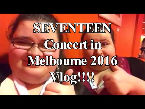 CroAsianTV Adventures Part Two | Seventeen Melbourne Concert 27th August 2016