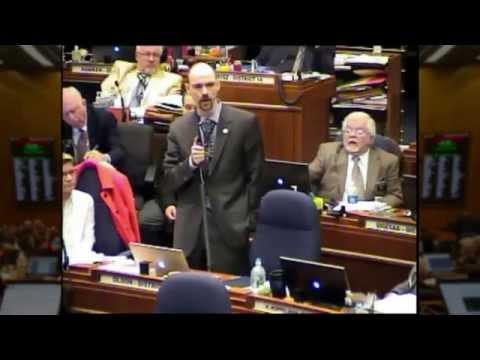 Representative Chris Olson on SB2279 (ND House of Representatives 2015)