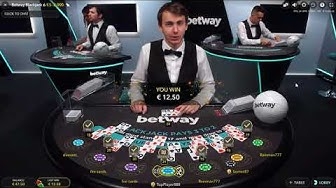 Live Blackjack - 5€ Bet - How BlackJack Basic Strategy Worked
