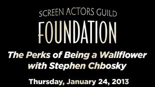 Conversations With Stephen Chbosky Of THE PERKS OF BEING A WALLFLOWER
