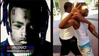 XXXTentacion Affiliate Shot In His Face Throwing Up Blood Sign Leaving Hospital..DA PRODUCT DVD