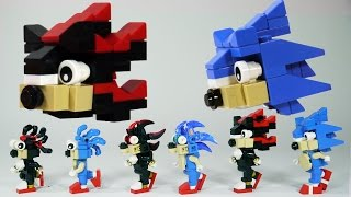 How To Build LËGO Shadow & Sonic the Hedgehog