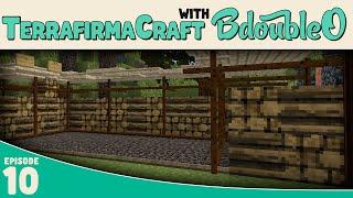Minecraft Terrafirmacraft :: Lumber Yard :: E10