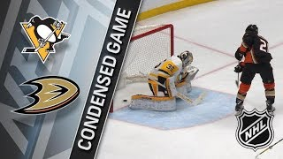 Pittsburgh Penguins vs Anaheim Ducks – Jan. 17, 2018 | Game Highlights | NHL 2017/18. Обзор матча