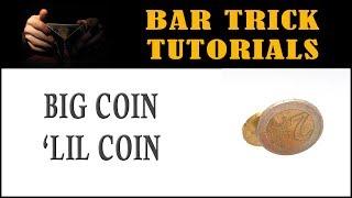 Coin Bar Tricks: Big Coin Magic Revealed  Bar Tricks to Impress Women