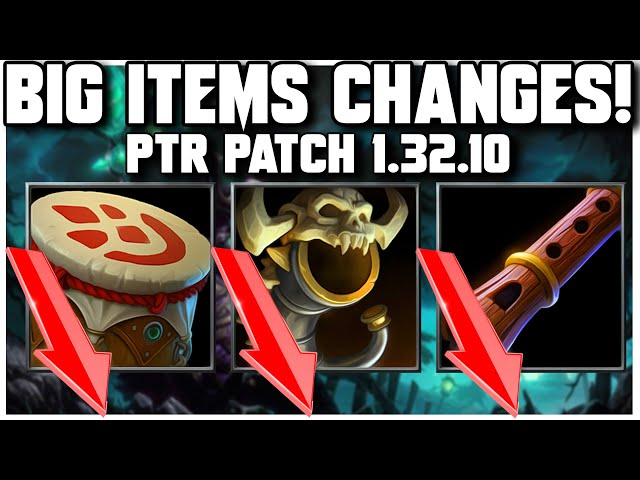 Grubby | WC3 | BIG ITEMS CHANGES - PTR Patch 1.32.10