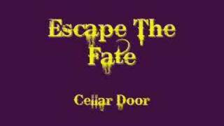 escape the fate cellar door