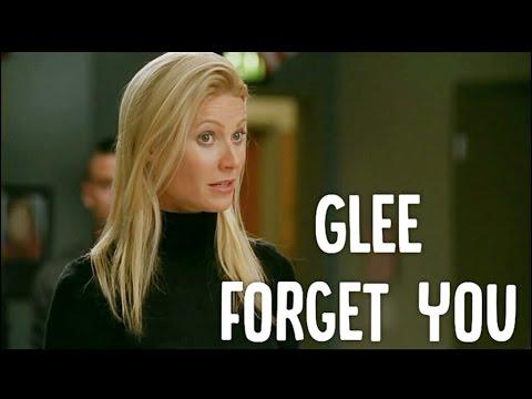 Glee - Forget You (lyrics) HD