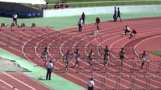 2015 関東選手権陸上 男子110mH 予選5組
