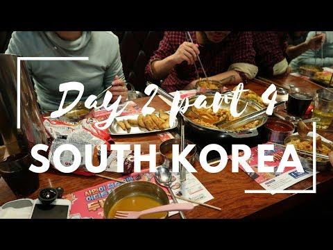 FOLLOW ME TO South Korea | DAY 2 - SHOPPING + DINNER + NIGHTLIFE STREET