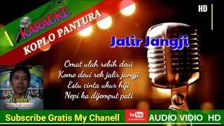 JALIR JANGJI LAGU SUNDA - KARAOKE TEKS TANPA VOCAL - DJ PONY