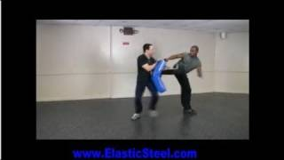 """Defensive Side Kick """"SideKick"""" Lesson- Using Defensive Angles to Avoid Follow up by the Attacker."""