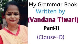 My Grammar Book part-11 (Clause-D)