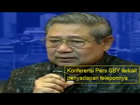 Klarifikasi SBY Atas Isu Yang Beredar Dan Penyadapan Teleponnya Dengan KH Ma'ruf Amin