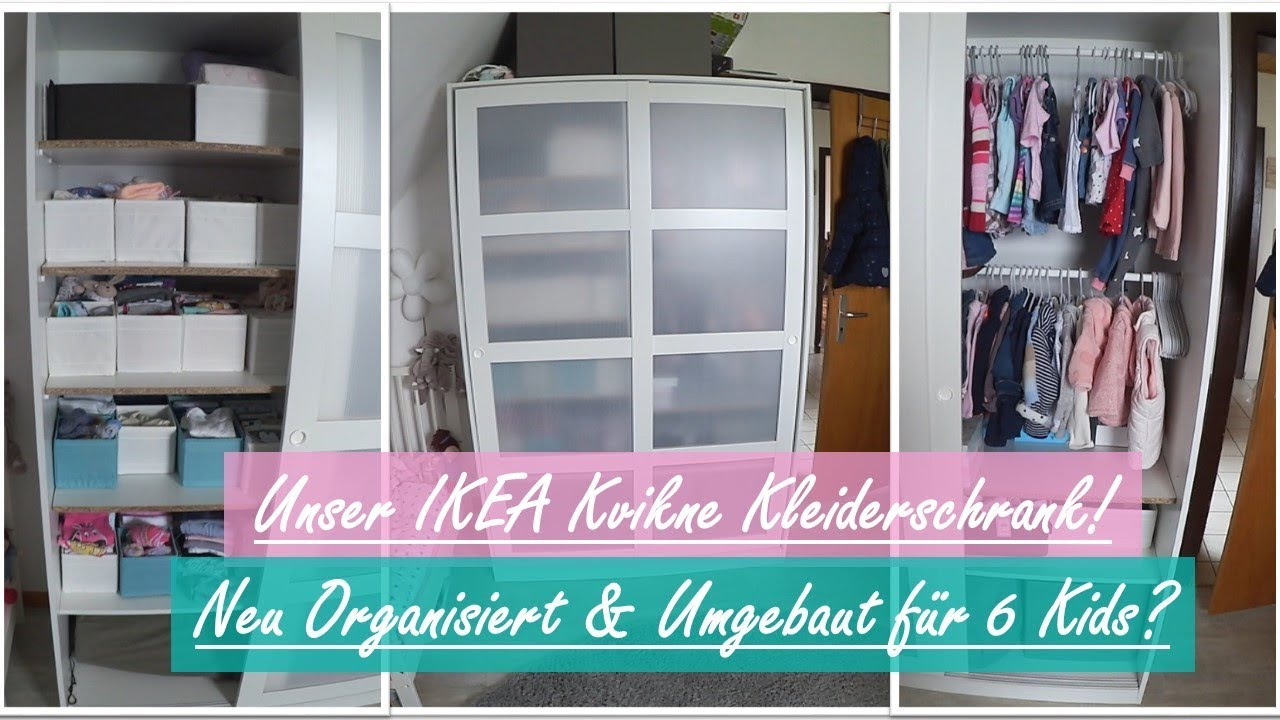 Unser Ikea Kvikne Kleiderschrank Umbau Diy Reborn Baby