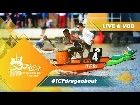 2019 Icf Dragon Boat Club Crew World Championships Kiev Ukraine / Day 4