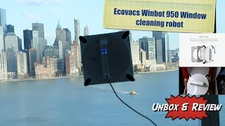 Ecovacs Winbot w950 window cleaner review- HERVEs WORLD -episode 156