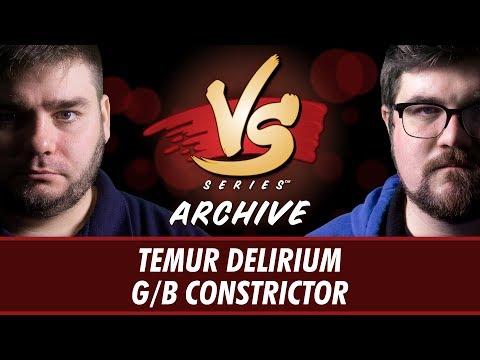 7/14/2017 - Todd Vs. Brad: Temur Delirium Vs. G/B Constrictor [Standard]