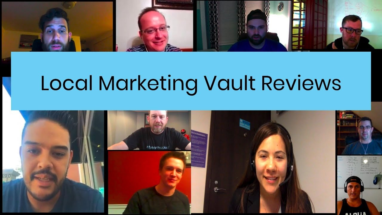 Download Local  Marketing Vault Review (success story interviews) • 2 HOUR MASHUP