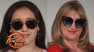 Praktična žena - Odabir naočara za sunce, prema obliku lica - leto 2017