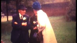 Anne Newton & Peter Wright - Wedding Day, 30th September 1967