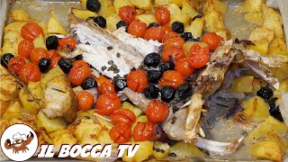 164 - Coda di rospo all'isolana...gliela chiedo alla befana! (secondo piatto profumi mediterraneo)