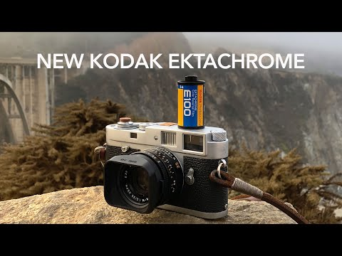 FIRST LOOK At The New Ektachrome By Kodak Professional