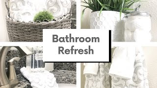 GUEST BATHROOM REFRESH | SPRING EDITION