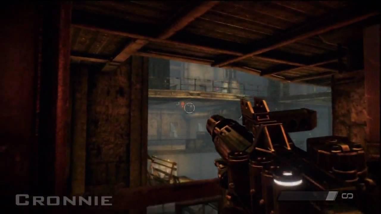 Killzone 2 - Helghast VC5 Electricity Gun - HD 720p