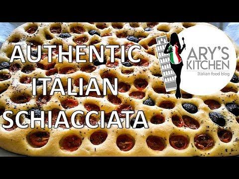 Authentic Italian Schiacciata | Bread and Pizza | Ary's Kitchen