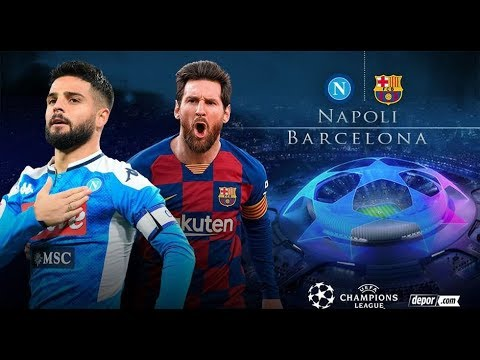 Barcelona Vs Napoli En Vivo Champions League Youtube