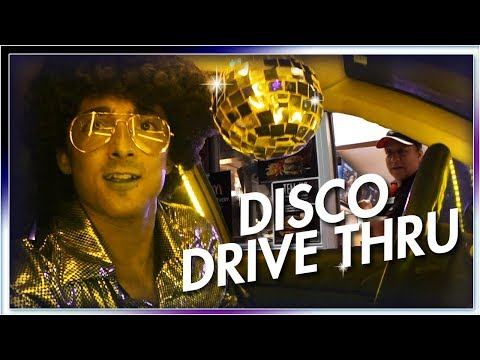 DISCO DRIVE THRU DANCE PARTY!!