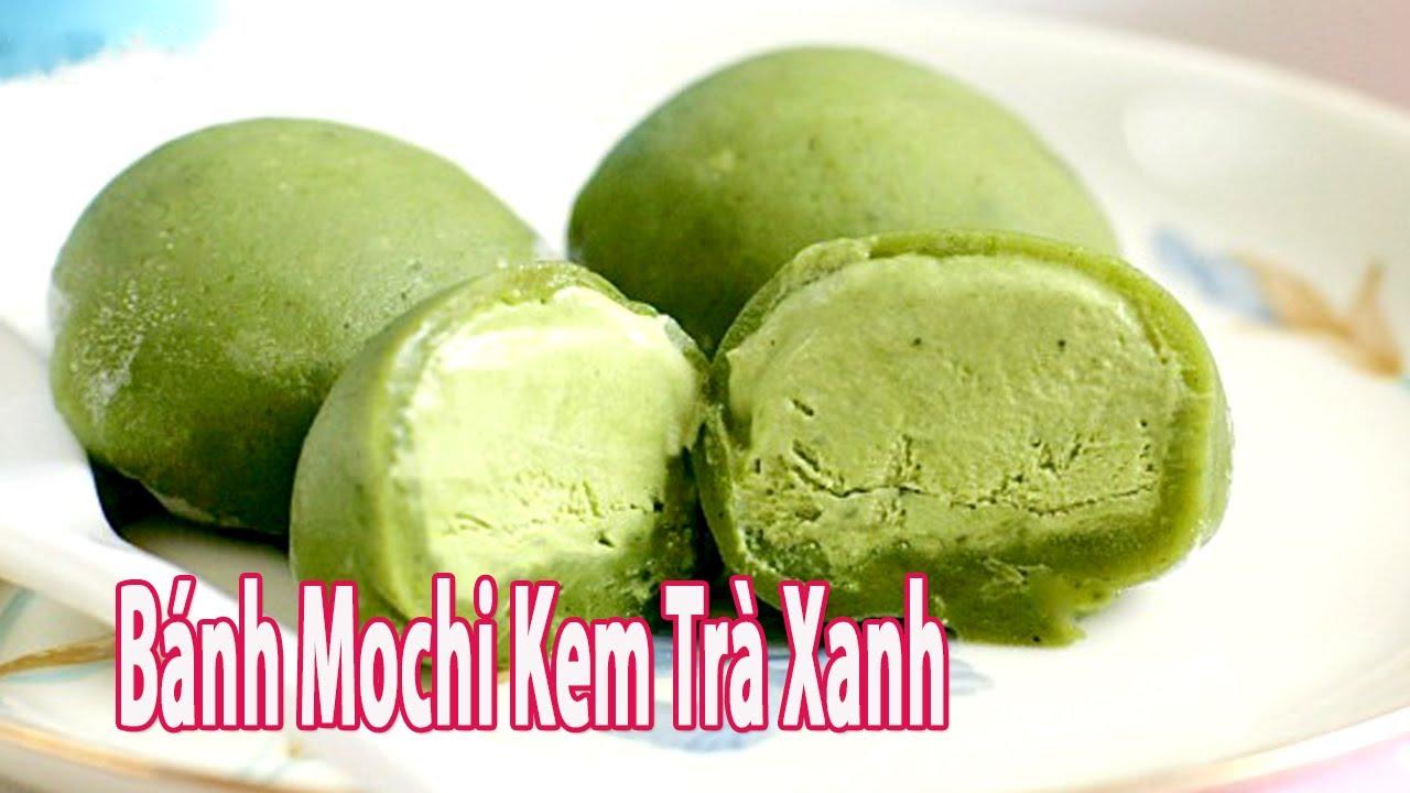 Cách Làm Bánh Mochi Kem Trà Xanh Thật Độc Đáo Và Ngon | Góc Bếp Nhỏ